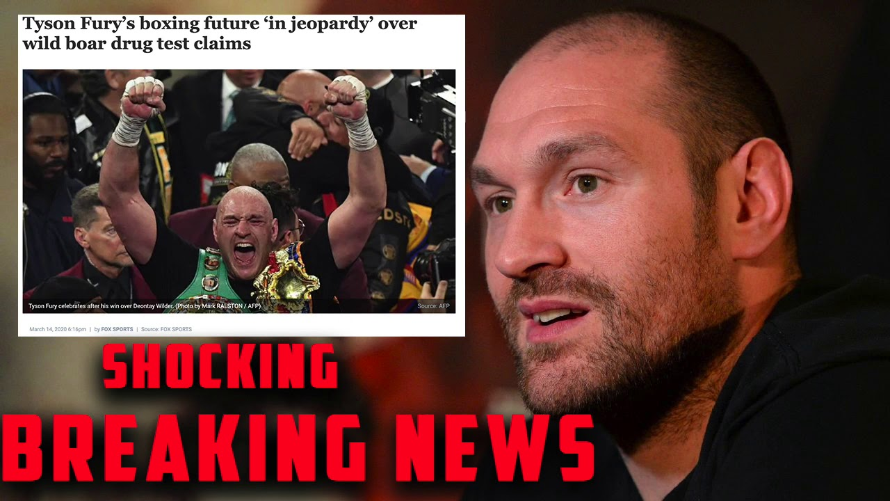 Tyson Fury Failed Drug Test Cover up (Bleacher Report)