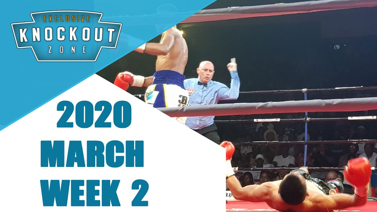 Boxing Knockouts | March 2020 Week 2