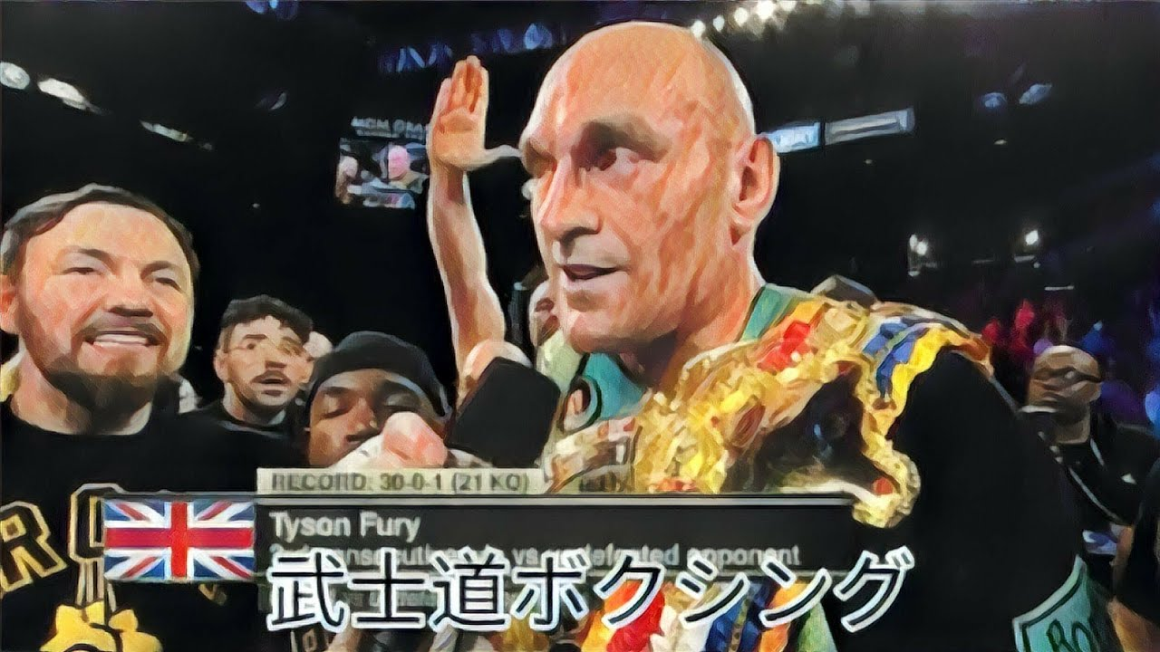 Tyson Fury Past Haunting Him Showing He's One Of The Dirtiest Boxers Of All Time.