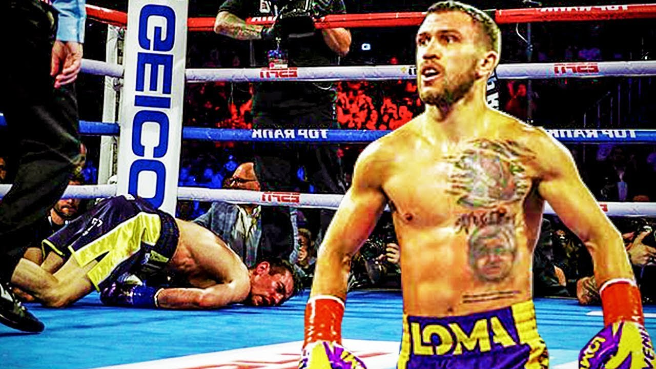 2019 Vasyl Lomachenko All Knockouts (10-0)