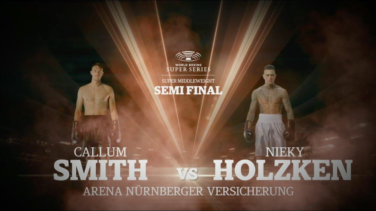 Smith vs Holzken – WBSS Season I: Super-Middleweight SF2
