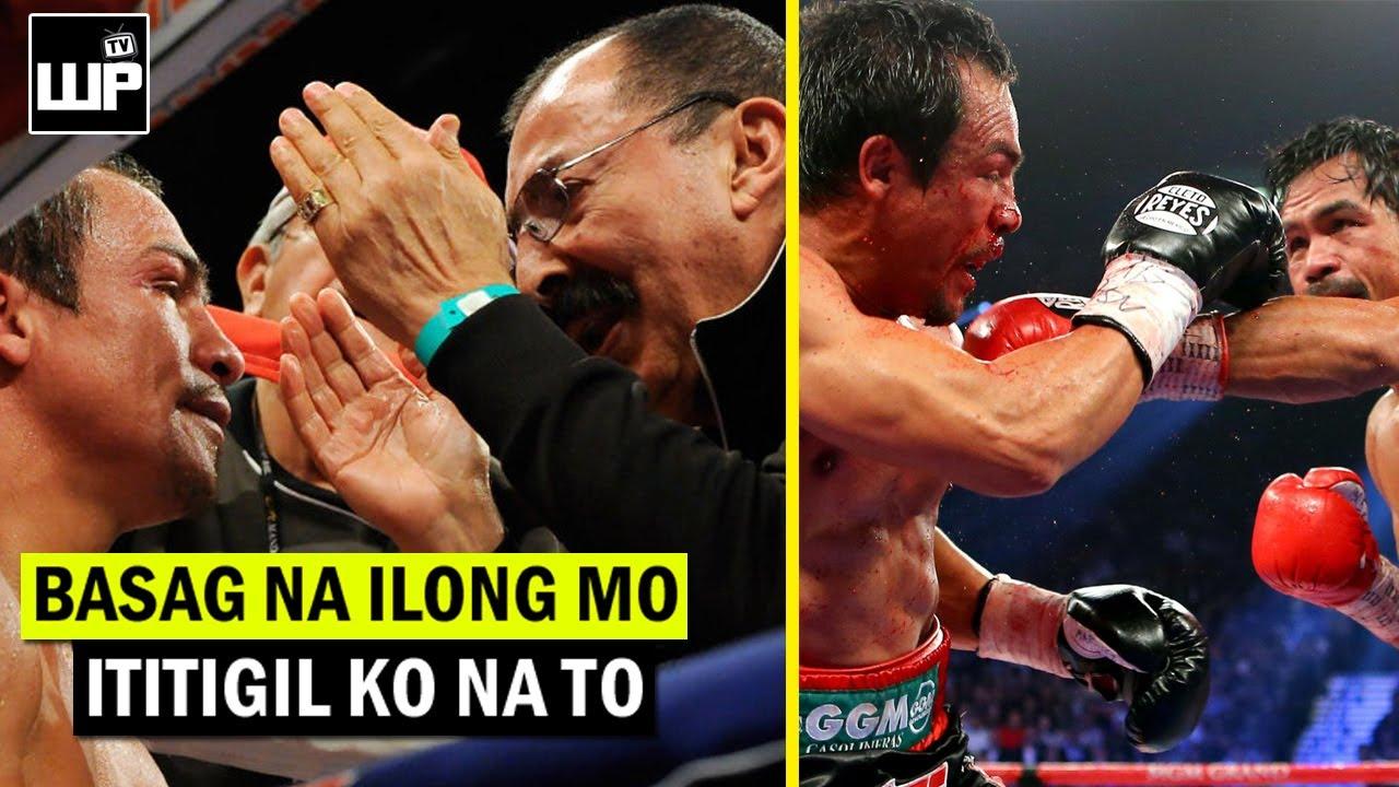 BOB ARUM PASUKO na daw ang CORNER ni Marquez bago nadale si Pacquiao? Kaya TUMANGGI sa 5th Fight?