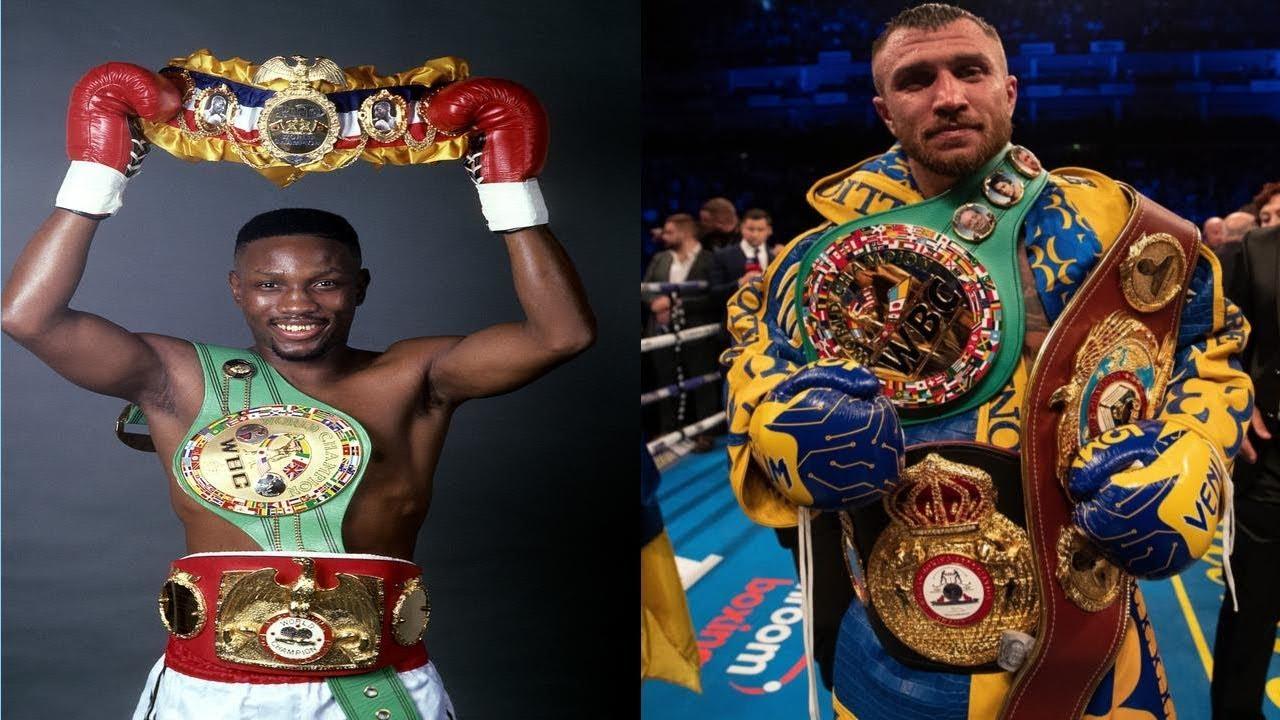 Fantasy Fight: Pernell Whitaker vs Vasyl Lomachenko