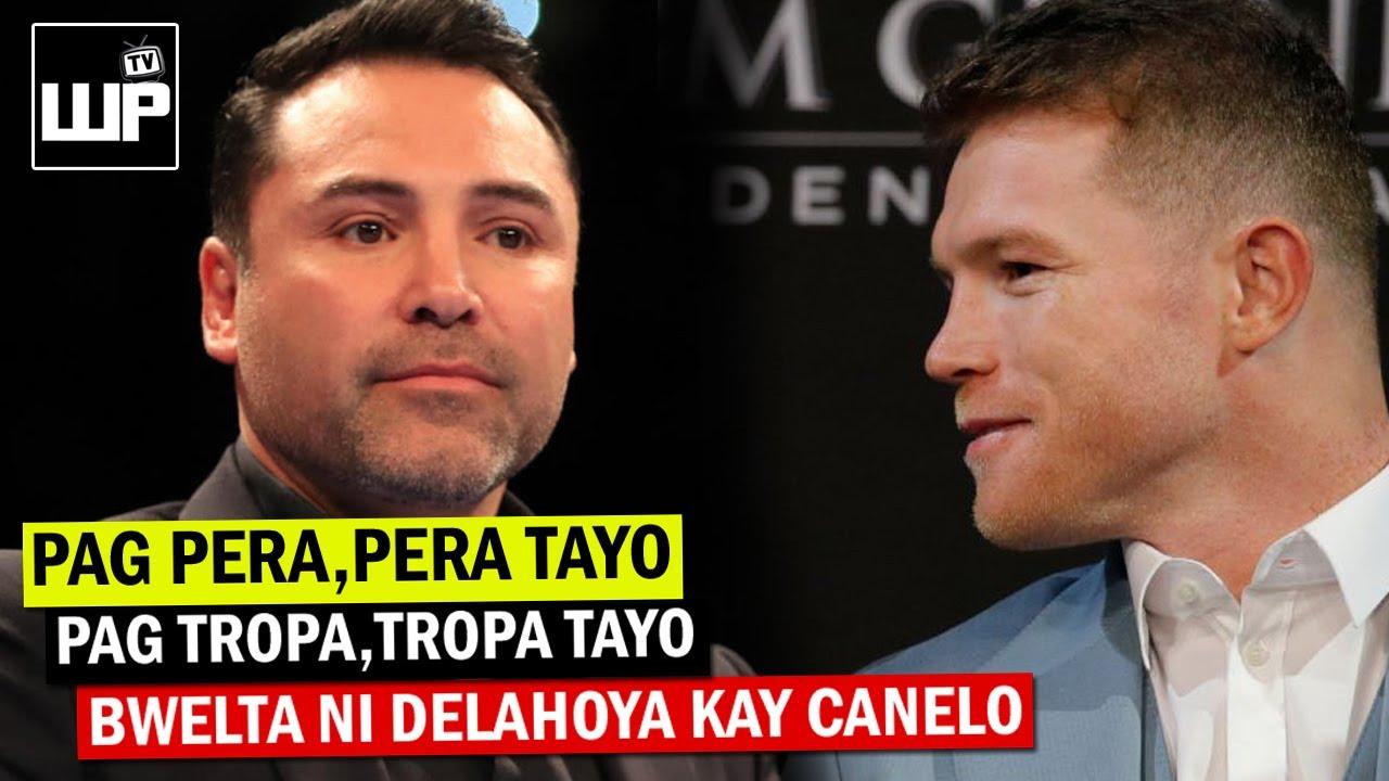 Matapos Tawaging Walang LOYALTY ni Canelo | Delahoya may BWELTA kay Canelo Alvarez