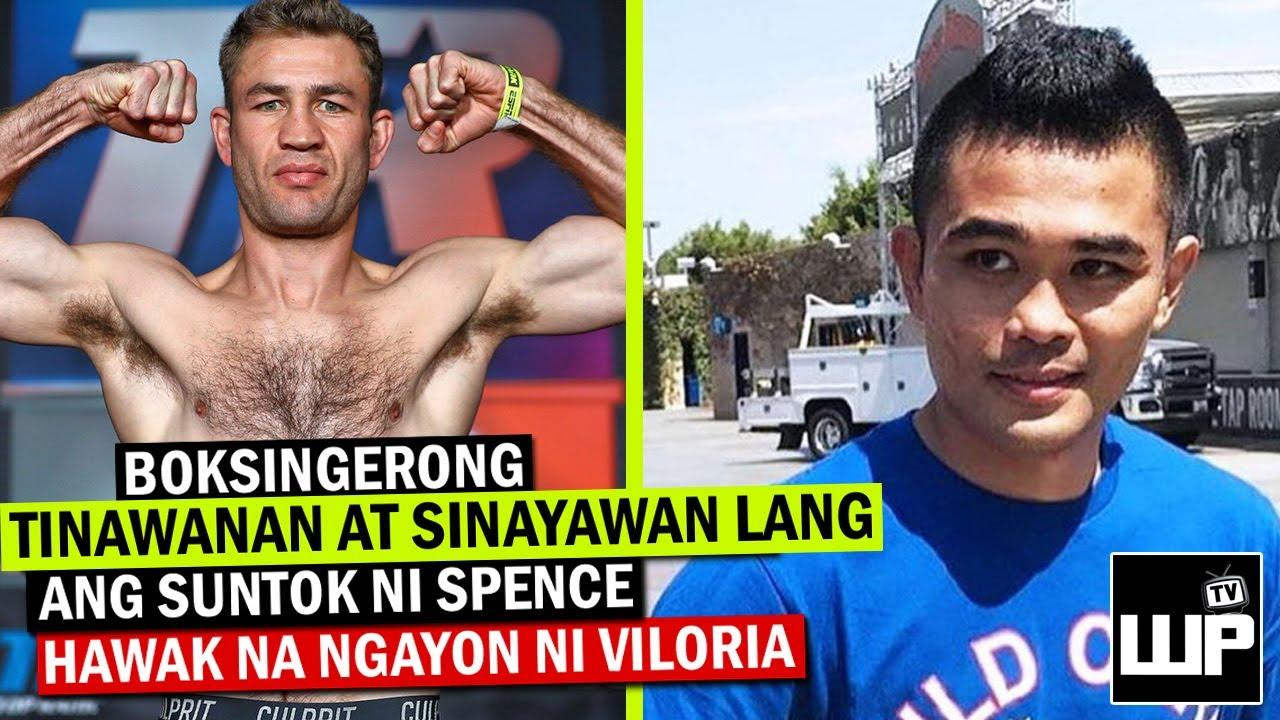Ngayong si Brian Viloria na ang kanyang Trainer Makabawi kaya siya kay Spence at mag World Champion?