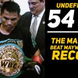 54-0 : THE MAN WHO BEAT MAYWEATHER'S RECORD