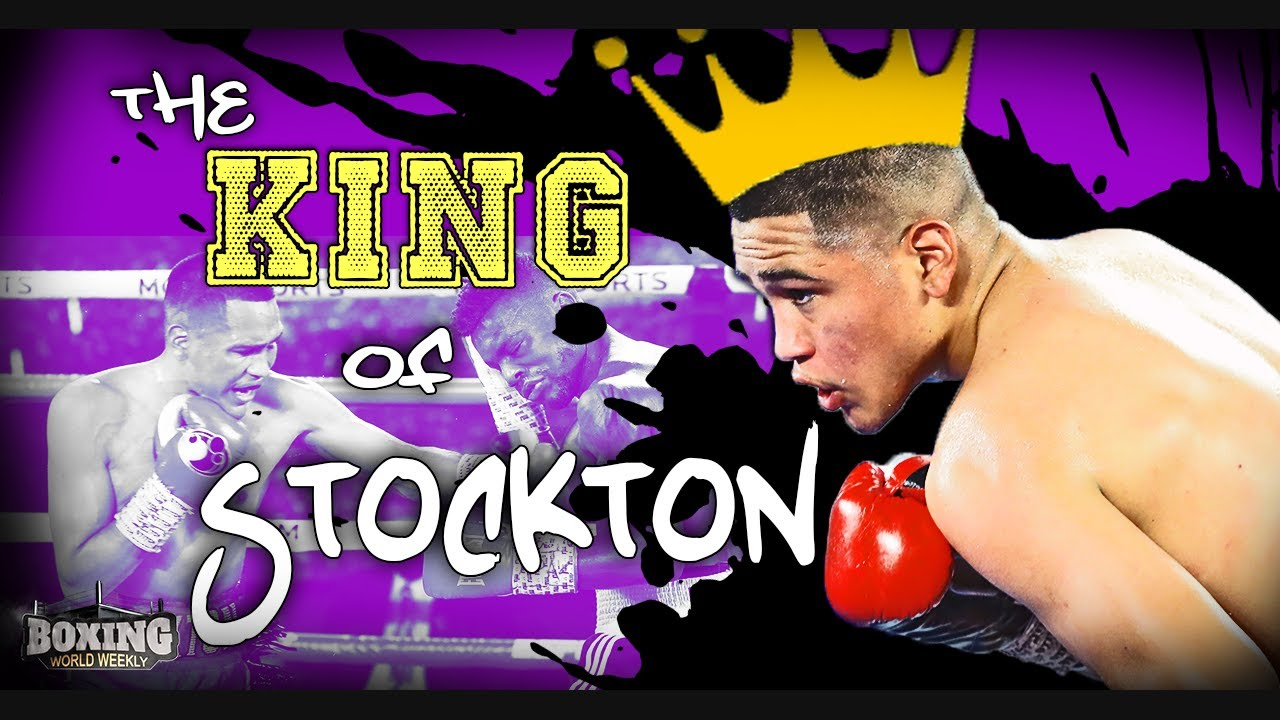GABRIEL FLORES JR.: THE KING OF STOCKTON   UPDATE   Boxing Feature & Highlights