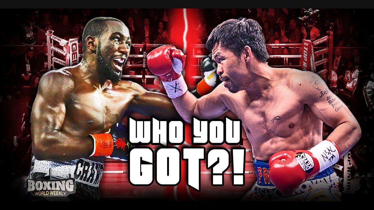 MUST-SEE MATCH-UP: TERENCE CRAWFORD VS. MANNY PACQUIAO