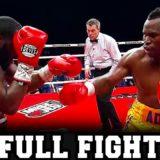ADONIS STEVENSON VS. DARNELL BOONE II   FULL FIGHT  
