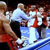 Cuando Zab Judah hizo que Floyd Mayweather TOCARA LA LONA