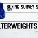 Welterweights – Boxing Survey Series Part 5